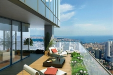 Levent Sky Towers in prime location Istanbul