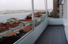 Apartment in Istanbul Cihangir modern interiors