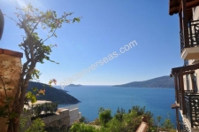 Garden apartment in Kalkan with shared pool