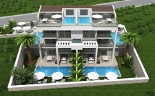 Spacious 2 and 3 bedroom Apartments with sea views in Kalkan