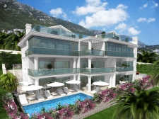 2 Bedroom Modern Fully Furnished Duplex Apartments in Kalkan