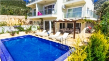 Fully Furnished Duplex Apartment in Kalkan