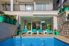Luxurious Apartment with Private Pool in Kalkan