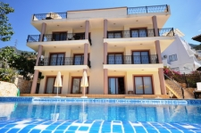 Fully Furnished Three Bedroom Apartment in Kalkan