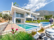 Brand New Partly Furnished Apartment in Kalkan For Sale