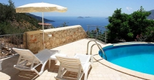 Stunning Sea View Villa with Infinity Pool in Kalkan