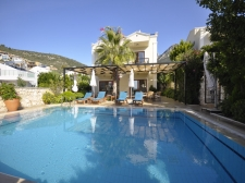 Central Location Villa With Sea View In Kalkan
