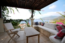 Three Bedroom Kalamar Villa With Stunning Sea View in Kalkan