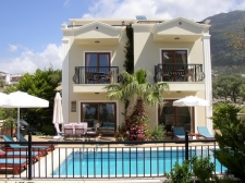Spacious Kalkan Villa With Sea View