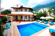 3 Bedroom Detached Villa with Swmimming Pool in Kalkan
