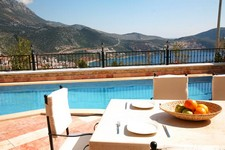 Private Kalkan Villa with Superb Views 3 Bedrooms for sale