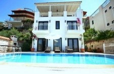 Seafront Kalkan Villa 3 Bedrooms with Large Terraces