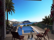 Off-Plan Luxury Villas With Sea View in Ortaalan Kalkan