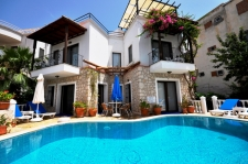 Centraly Located Detached Villa With Sea View in Kalkan