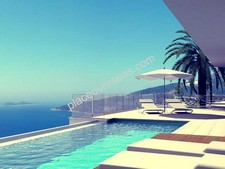 Contemporary Kalkan Villa Elevated Position 4 Bedrooms