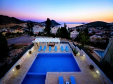 Fully Furnished Modern Villa With Sea View in Kalkan