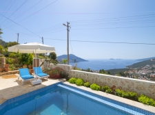 Luxury Fully Furnished Villa in Kalkan For Sale