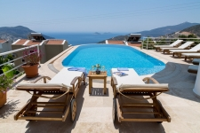 Five Bedroom Luxury Kalkan Villa With Uninterrupted Sea View
