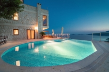 Spacious Kalkan Villa With Panaromic Sea View