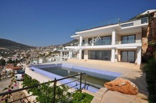 Kalkan Villa with Open Harbour View 5 Bedrooms for sale
