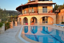 Fabulous Detached Villa with Spectacular Views in Kalkan Islamlar