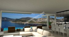 Seafront Kalkan Villa Prime Location 6 Bedrooms for sale