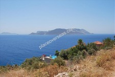 Kas Waterfront Land for Sale opposite Meis for sale