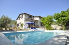 Traditional Stone 3 Bedrooms and Private Pool in Kayakoy
