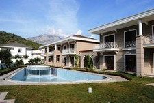 Holiday home in Kemer with mountain and pine forest view
