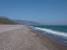 Beachfront hotel land for sale in Kemer