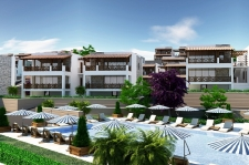Bodrum Town Center 2 Bedroom Modern Apartments