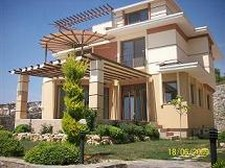 Spacious Kusadasi Villa with Marina View 5 Bedrooms for sale