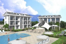 New 2 Bedroom Apartments in Ovacik-SOLD
