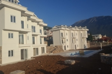 Near to Completion Three Bedrooms Apartments in Ovacik