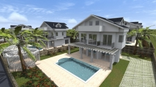 Near to Completion Villas in Peacful Ovacik