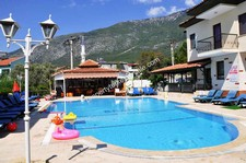 Detached Villa in Ovacik Fethiye in a Quiet Estate 2 Bedrooms