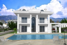 New Project 4 Bedroom Private Villas in Ovacik-SOLD