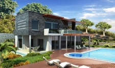 Land with off plan Villa project behind Palmarina Bodrum Yalikavak