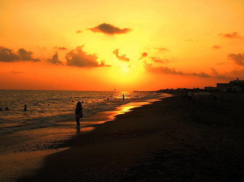 Belek: A Beautiful Sunset