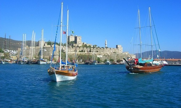 Bodrum Town: Castle