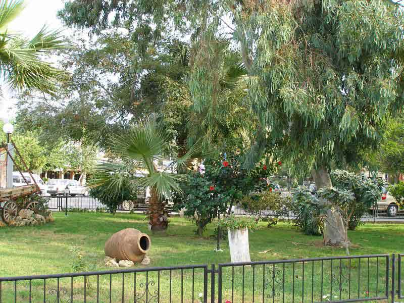 Bodrum Town: Garden