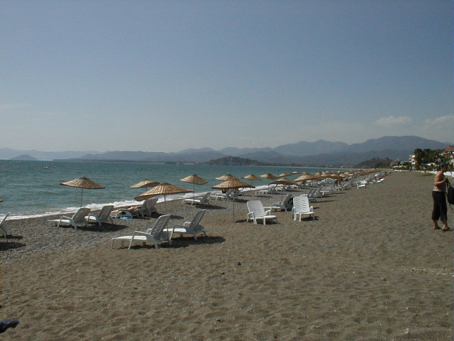 Calis beach in Early Morning