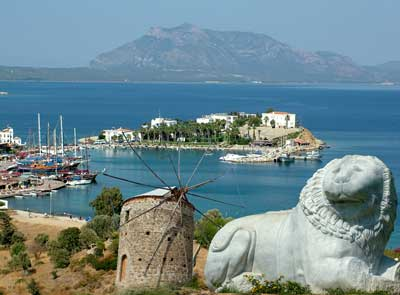 Datca - windmills, sea and sunshine.