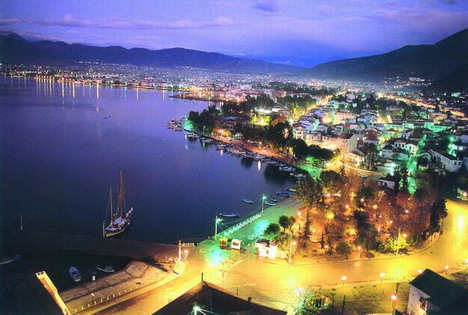 Fethiye town by night