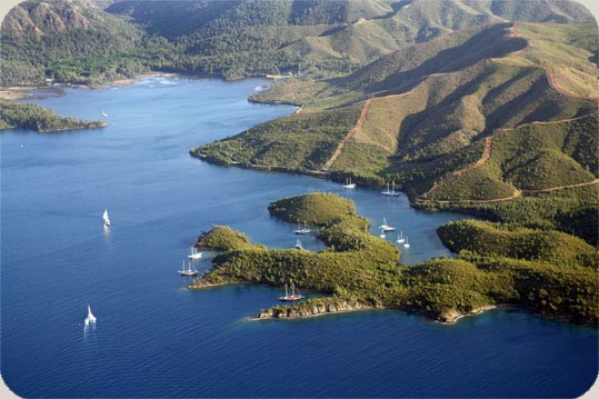 Gokova is one of Turkey's premiere Boater routes