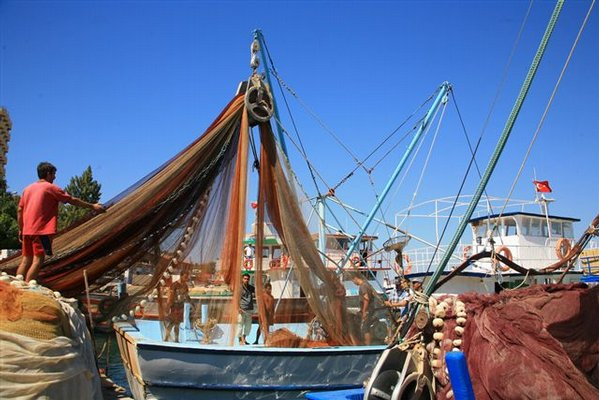 Gulluk: Fishing Boats