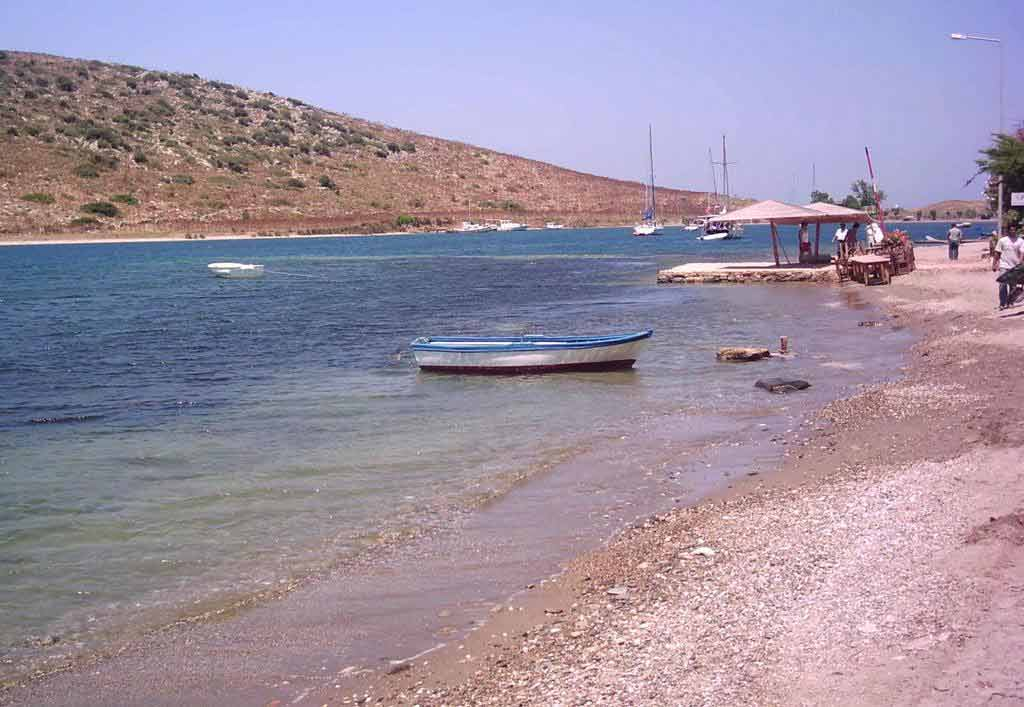 Gumusluk: Beach