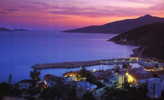 Kalkan Harbour Night