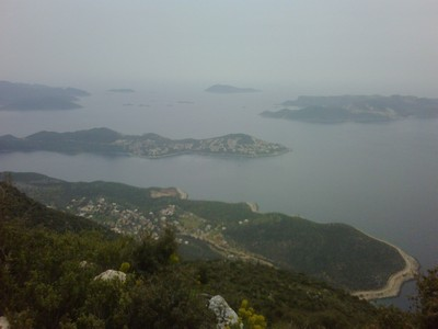 Kas Peninsula, Meis and Gokseki from Yenikoy