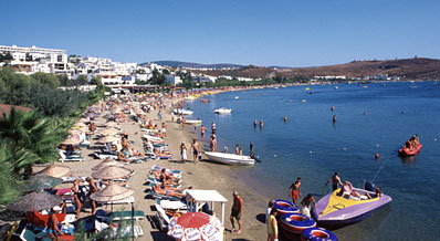 Ortakent: Main Beach